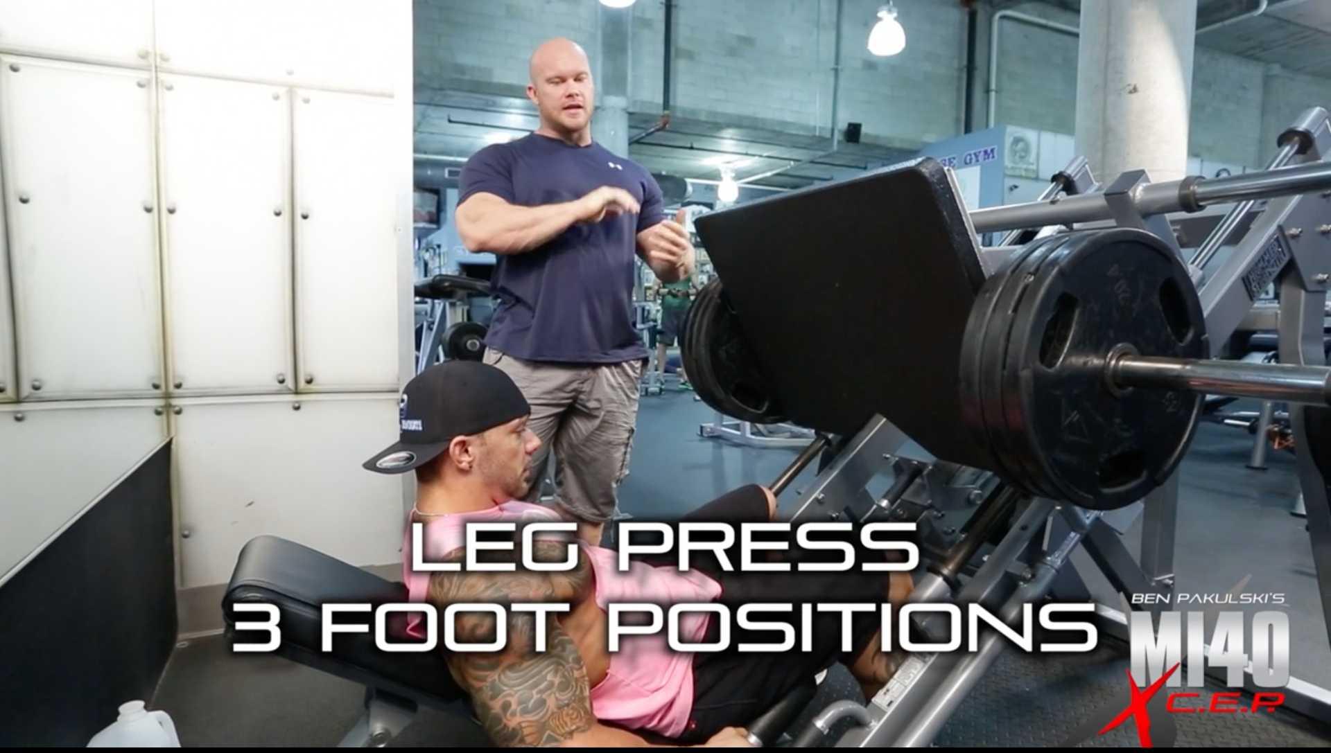 MI40X Leg Press
