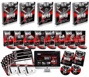 This is the complete MI40X muscle building program created by IFBB pro bodybuilder, Ben Pakulski.